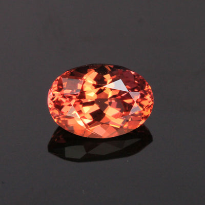 Pink/Orange Oval (Zoisite) Tanzanite Gemstone 1.06 Carats