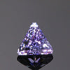Lavendar PInk Triangle Fancy Tanzanite  Gemstone 1.85 Carats