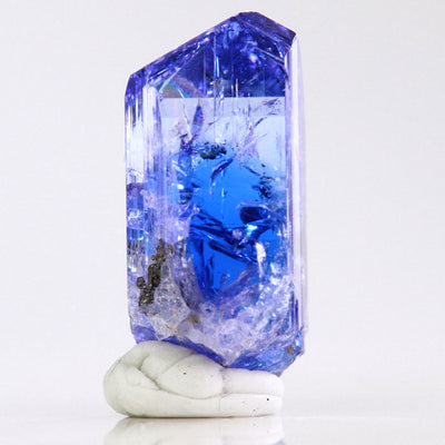 Blue Bi Color Tanzanite Crystal