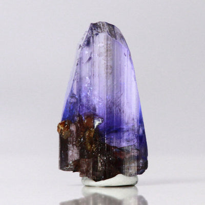 pastel colored tanzanite crystal