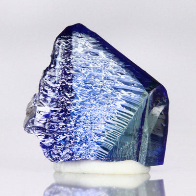 peacock tanzanite crystal