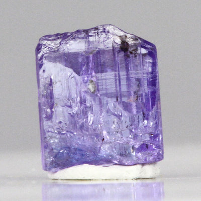 11.58ct Fancy Violet Colored Tanzanite Crystal