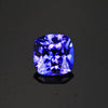Blue Violet Square Cushion Tanzanite Gemstone 1.03 Carats