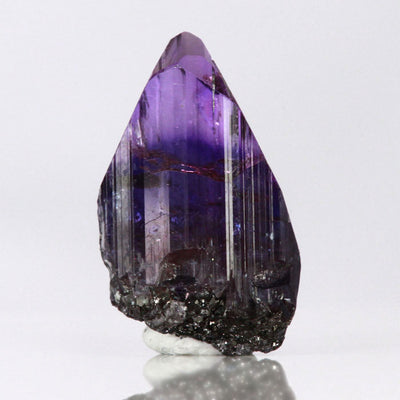 Natural Tanzanite Crystal Mineral Specimen