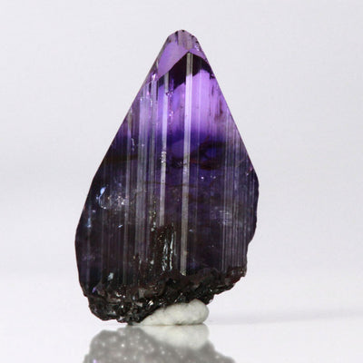 Intense 22.88ct Natural Unheated Tanzanite Crystal