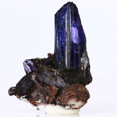 Tanzanite Crystals on Matrix