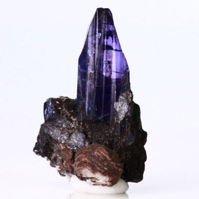 Tanzanite Crystal on host rock