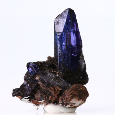 Tanzanite Crystal on Matrix Mineral Specimen