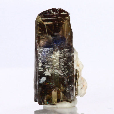 Natural unheated tanzanite crystal specimen