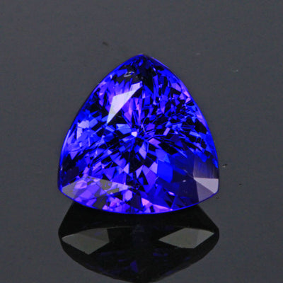 Blue Violet Trilliant Tanzanite Gemstone 5.58 Carats