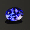 Blue Violet OVal Tanzanite Gemstone 1.33 Carats