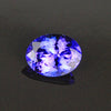 Blue Violet Oval Tanzanite Gemstone 1.41 Carats