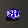 Blue Violet Oval Tanzanite Gemstone 1.47 Carats