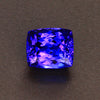 Blue Violet Antique Cushion Tanzanite Gemstone 4.26 Carats