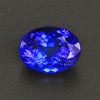 Violet Blue Oval Tanzanite Gemstone 6.17 Carats