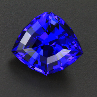 Rare Natural Violet Blue Shield Tanzanite Gemstone 32.90 Carats