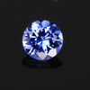Violet Blue Tanzanite Gemstone .78 Carats