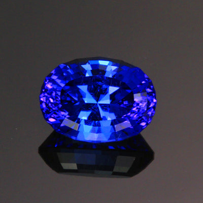 oval tanzanite gemstone