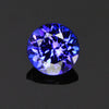 round brilliant tanzanite gemstone