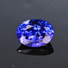 Violet Blue Oval Tanzanite Gemstone 1.24 Carats