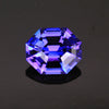Blue Violet Stepped Octagon Tanzanite Gemstone 2.30 Carats