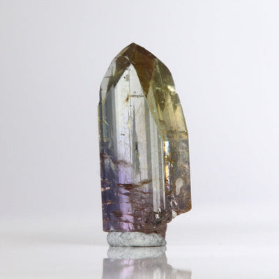 6.95 ct Yellow Violet Fancy Colored Tanzanite Crystal