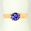 Tanzanite Ring .89 Carat BVV Color