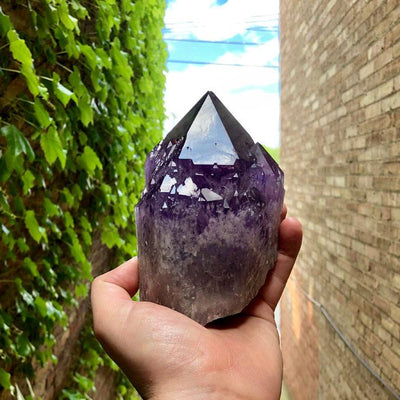 LARGE BOLIVIAN AMETRINE CRYSTAL POINT(ON HOLD FOR BRIAN)