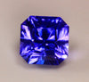 Princess Cut Tanzanite 2.34 Carat BVV Color