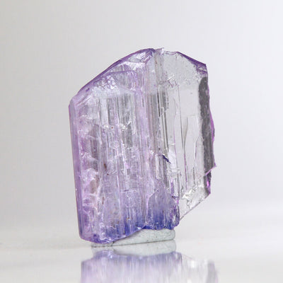 11.56ct Fancy Pinkish Violet Tanzanite Crystal
