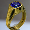 22kt Tanzanite ring for Mitchell