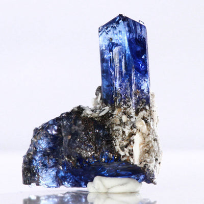 Raw Tanzanite Crystal Specimen