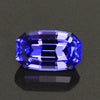 Blue Violet Vivid Antique Cushion Tanzanite Gemstone  1.68 Carats