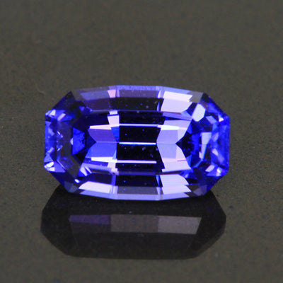 1.68 Carats Antique Cushion Tanzanite