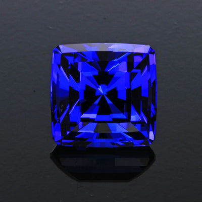 Tanzanite With Exceptional Cut and Color  7.85 Carats