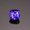 Blue Violet Square Cushion Tanzanite Gemstone 1.36 Carats