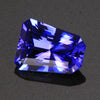 Violet Blue Brilliant Style Tapered Barion Tanzanite Gemstone 2.88 Carats