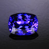 Blue Violet Vivid Antique Cushion Tanzanite  Gemstone 3.04 Carats