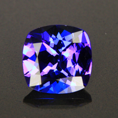 2.74 Carats Square Cushion Tanzanite