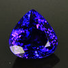 Violet Blue Exceptional Plus Pear Shape Tanzanite 11.72 Carats