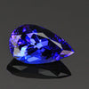 pear shape tanzanite gemstone