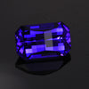 Blue Violet Opposed Bar Tanzanite  Gemstone 3.21 Carats