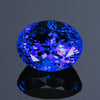 Color Changing Oval Tanzanite Gemstone  8.06 Carats