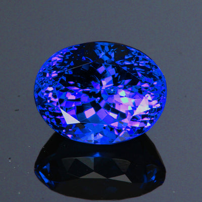 Tanzanite Color Changing 8.06 Carats Oval