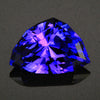 Blue Violet Exceptional Shield Tanzanite Gemstone 8.60 Carats