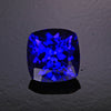 2.91 ct cushion tanzanite