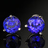 Copy of 3.99 ct round tanzanite stud earrings
