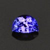 Blue Violet Intense Half Moon Tanzanite Gemstone 1.08 Carats