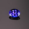 Blue Violet Oval Tanzanite Gemstone 1.83 Carats