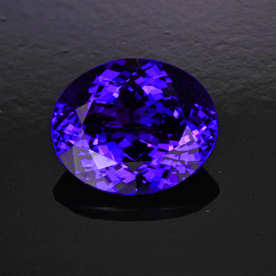 Color Change Oval Tanzanite Gemstone  3.63 Carats